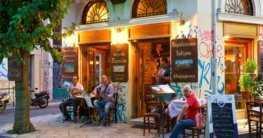 Redewendungen Cafe & Restaurant in Chalkidiki