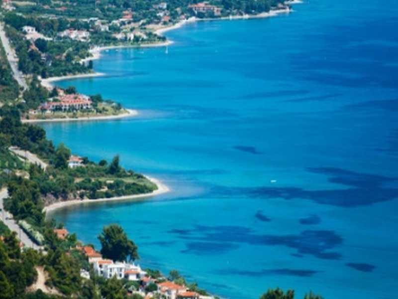 Bucht in Chalkidiki